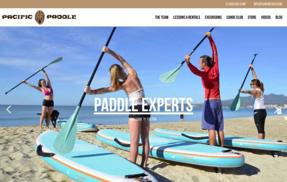 Pacific Paddle